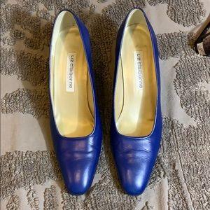 Liz Claiborne blue heels
